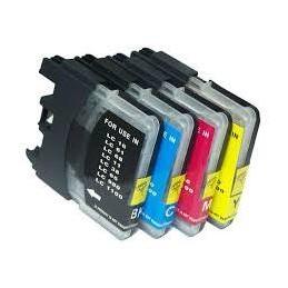 28ML Brother Compatibl LC61 Bk LC980 BK LC1100 ALTA CAPACITA