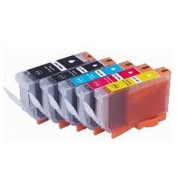 26ML -Nero  PGI 5BK  Con chip compatibile for canon serie 8