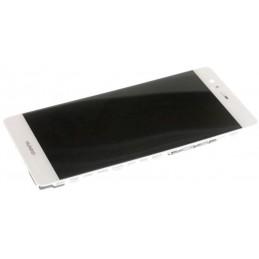 LCD + Touch Originale con Frame per Huawei P9 Bianco
