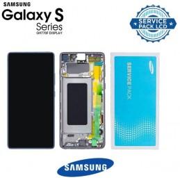 LCD display Samsung G770F Galaxy S10 Lite GH82-21672B Bianco
