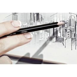 HI-TEXT 060 GRAFIX matita grafite esagonale HB2 12pz