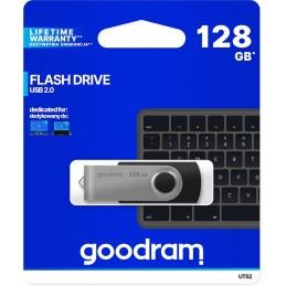 Chiavetta/Pendrive USB Goodram Twister 128GB nera USB 2.0