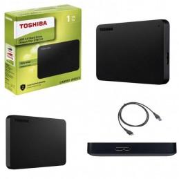 Toshiba HDD esterno 2,5'' 1 TB Nero USB 3.0 - retail box