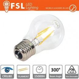 Lampada Filamento Goccia - 5W 2700K E27 530LM