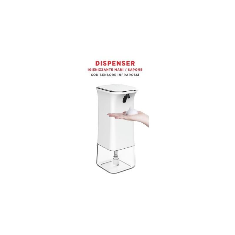 DISPENSER igienizzante mani / sapone 280ml con Sensore PIR