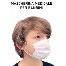 Per Bambini mascherina Chirurgica Medicale monouso 3 strati