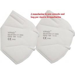 Mascherina protettiva monouso FFP2 - confezione da 2PZ