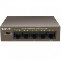 Switch Desktop 5 Porte 10/100 con 4 Porte PoE TEF1105P 63W