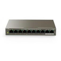 IP-COM F1110P 2 porte Gbps + 8 porte PoE 10/100Mbps switch