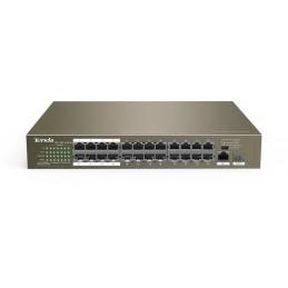 Tenda switch TEF1126P 24 ports PoE 10/100Mbps + 1 GE/SFP