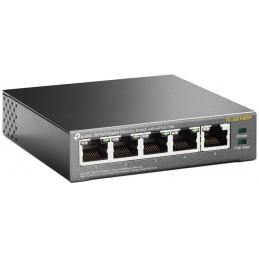 PoE switch 5 porte Gbit 4 PoE max 56W TP-Link TL-SG1005P
