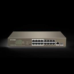 Switch 16 porte PoE 100Mb 1 porta 1Gbps + SFP F1118P-16-150W