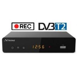 Decoder Ricevitore Terrestre HD DVB-T2 10 Bit Twin Tuner USB