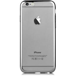 Custodia Glitter soft per iphone 6S/6 Plus Gun Black