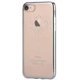 Cover Soft Crystal Iris Swarovsky iPhone 7 Plus Silver