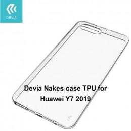 Cover protezione in TPU Trasparente per Huawei Y7 2019
