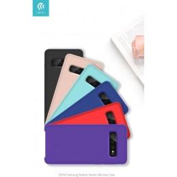 Cover Protezione per Samsung S10e in Silicone Morbido Viola