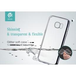 Cover Glitter Soft per Samsung Galaxy S7 Argento