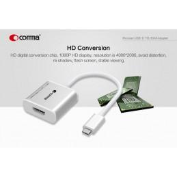 iRonclad Adattatore Usb-C a HDMI in HD 1080p 4000x2000 px