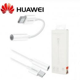 Adattatore Originale Huawei CM20 Tipo C / 3,5mm Bianco