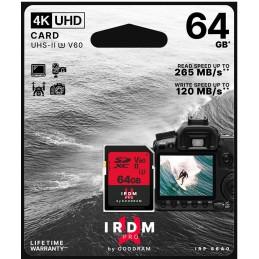 Scheda SD 64GB UHS II V60 Goodram - blister retail