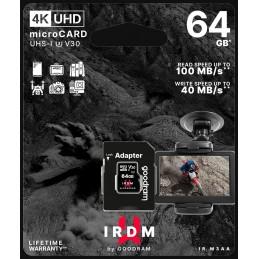 microSD 64GB CARD UHS I U3 + adapter - retail bliste
