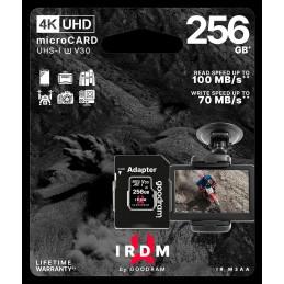 microSD 256GB CARD UHS I U3 + adapter - retail bliste