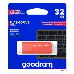 Pendrive GoodRAM 128GB UME3 orange USB 3.0 - retail blister