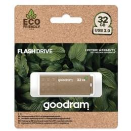 Pendrive GoodRAM 32GB UME3 GREEN USB 3.0 - retail blister