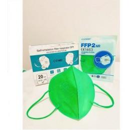 Mascherina protettiva monouso FFP2 VERDE - conf. da 20PZ