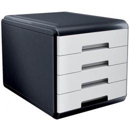 CASSETTIERA Mydesk 4 cassetti - Infrangibile - Colore BIANCO