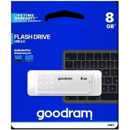 Pendrive GoodRAM 8GB UME2 white USB 2.0 - retail blister