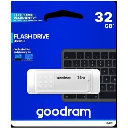 Pendrive GoodRAM 32GB UME2 white USB 2.0 - retail blister