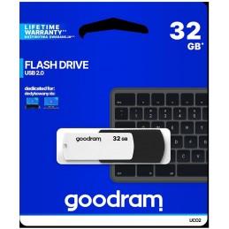 Pendrive GOODRAM Black-White 32GB USB 2.0 - retail blister