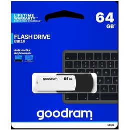 Pendrive GOODRAM Black-White 64GB USB 2.0 - retail blister