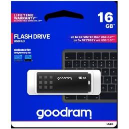Pendrive GoodRAM 16GB BLACK USB 3.0 - retail blister