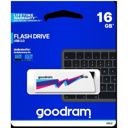 Pendrive GoodRAM 16GB UCL2 WHITE USB 2.0 - retail blister