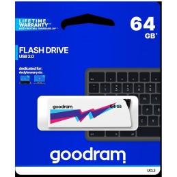 Pendrive GoodRAM 64GB UCL2 WHITE USB 2.0 - retail blister