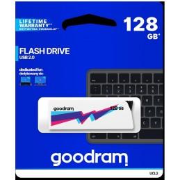 Pendrive GoodRAM 128GB UCL2 WHITE USB 2.0 - retail blister