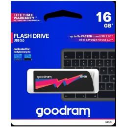 Pendrive GoodRAM 16GB UCL2 BLACK USB 3.0 - retail blister