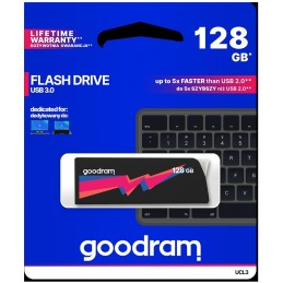 Pendrive GoodRAM 128GB UCL2 BLACK USB 3.0 - retail blister