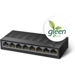 Switch Desktop 8 Porte 10/100/1000Mbps Risparmio energetico